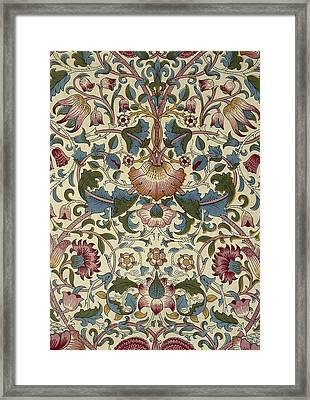 Floral Pattern Framed Print by William Morris