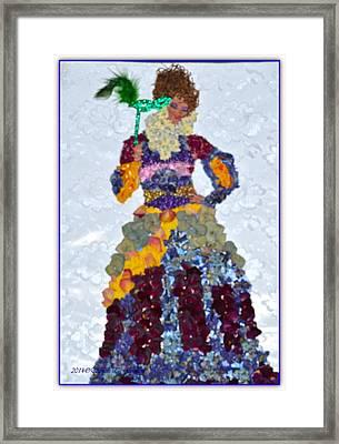 Floral Princess Framed Print