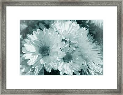 Framed Print featuring the photograph Floral Serendipity by Cathy  Beharriell