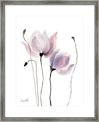 Floral Sway I Framed Print by Lanie Loreth