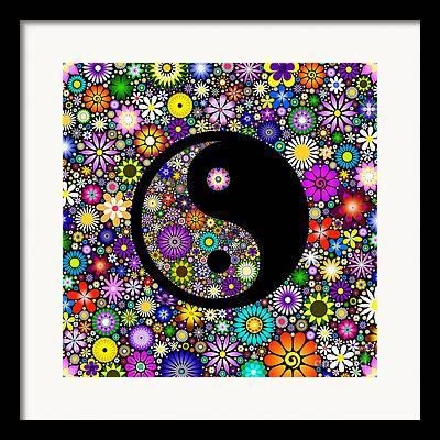 Ying Digital Art Framed Prints