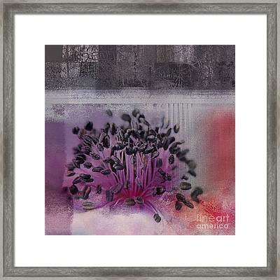 Floralart - 02b Framed Print by Variance Collections
