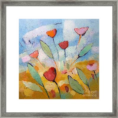 Floralbreeze Framed Print by Lutz Baar