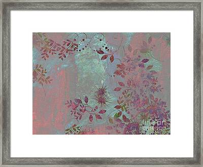 Floralities - 11c98t01 Framed Print by Variance Collections