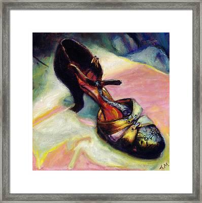 Florence Framed Print by Ann Moeller Steverson