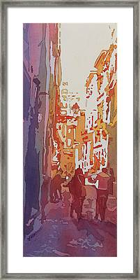 Florence Bikers Framed Print by Jenny Armitage