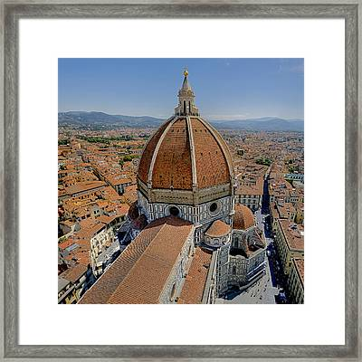 Florence Cathedral Framed Print by Patrick Jacquet