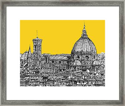 Florence Duomo  Framed Print by Adendorff Design