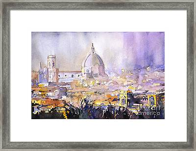 Florence Duomo Framed Print by Ryan Fox
