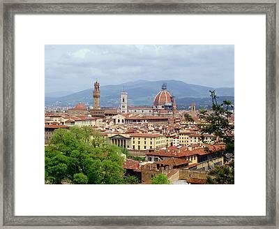 Florence Framed Print by Ellen Henneke