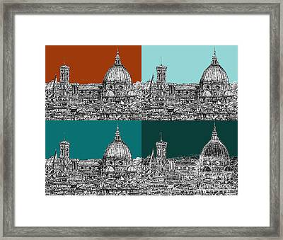 Florence Foursome 1 Framed Print