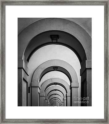Florence Hallway Framed Print