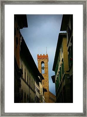 Framed Print featuring the photograph Florence  by Henry Kowalski