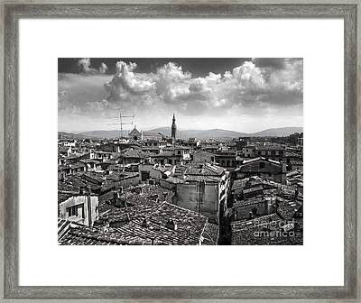 Florence Italy - 01 Framed Print