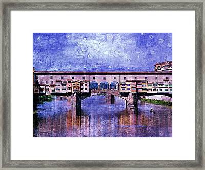 Florence Italy Framed Print by Kathy Churchman