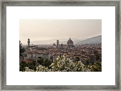 Florence Italy Framed Print by Melany Sarafis