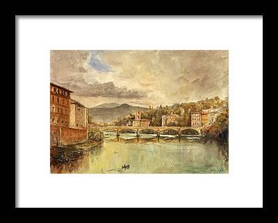 Florence Framed Prints