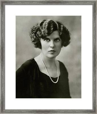 Florence Nash Framed Print