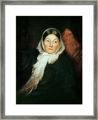 Florence Nightingale Framed Print by Sir William Blake Richomond