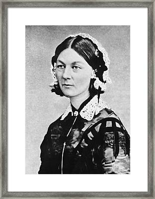 Florence Nightingale Framed Print by Underwood Archives