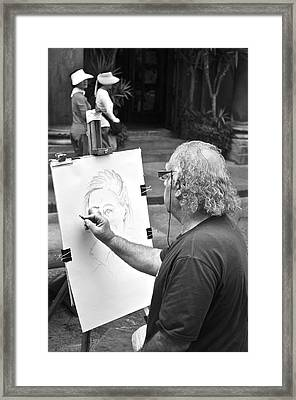 Florentine Artist Framed Print by Marty  Cobcroft