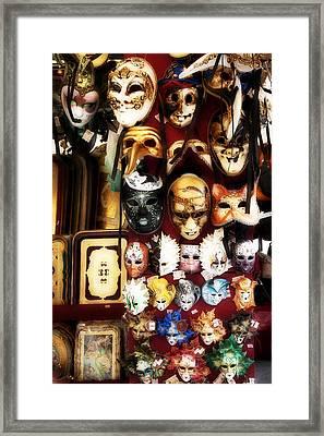 Florentine Masks Framed Print