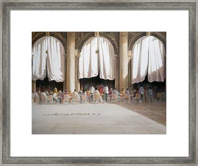 Florians, Venice Framed Print by Lincoln Seligman