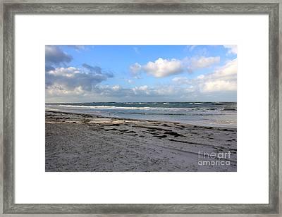 Florida Beach Day Framed Print by Danielle Groenen