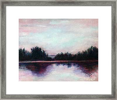 Florida Canal Framed Print