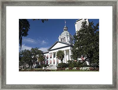 Florida Capital Building Framed Print