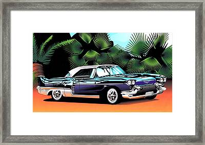 Florida Car Framed Print