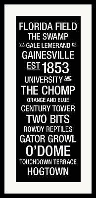 The Swamp Framed Prints