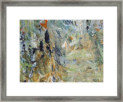 Florida Flyaway Framed Print by Nancy Kane Chapman