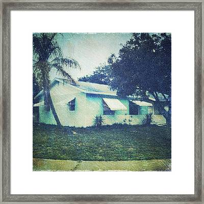 Florida House Framed Print by Beth Williams