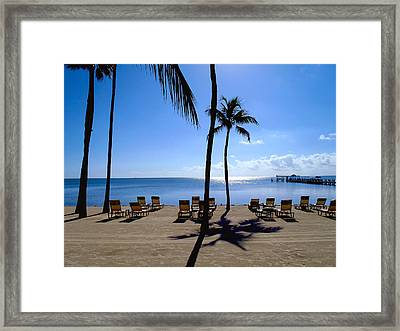 Florida Keys Framed Print by Carey Chen