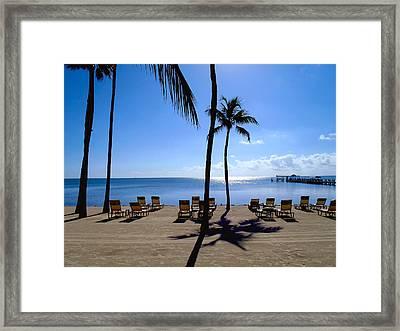 Florida Keys Framed Print by Carey Chen
