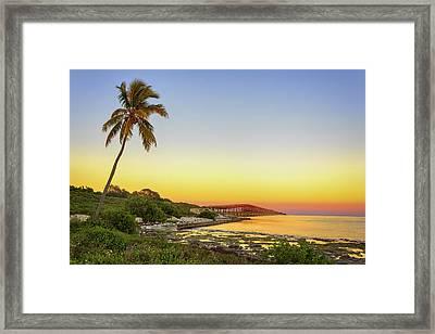 Florida Keys Sunset Framed Print