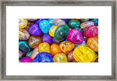 Florida Rocks Framed Print
