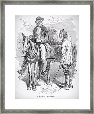 Florida Settlers 1881 Framed Print by Movie Poster Prints