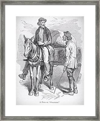 Florida Settlers 1881 Framed Print