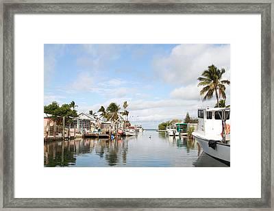 Florida Spring Day Framed Print by Deborah Benoit