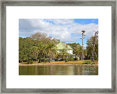 Florida Style Framed Print by Carol  Bradley
