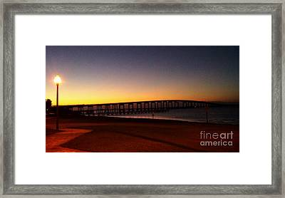 Florida Sunrise Framed Print by Janice Spivey