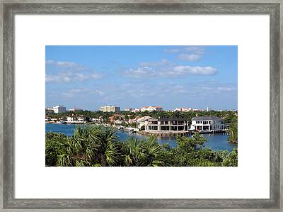 Florida Vacation Framed Print