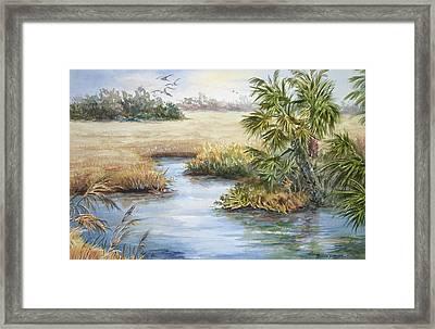 Florida Wilderness IIi Framed Print by Roxanne Tobaison