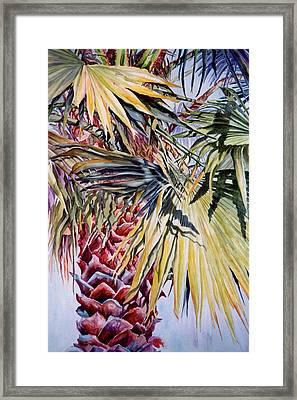 Florida's Pride Framed Print by Roxanne Tobaison