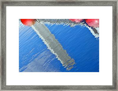 Framed Print featuring the photograph Floridian Abstract by Keith Armstrong