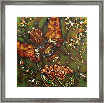 Florina Framed Print by Marie Howell Gallery