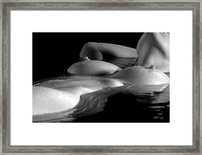 Flotsam Framed Print by Adam Chilson
