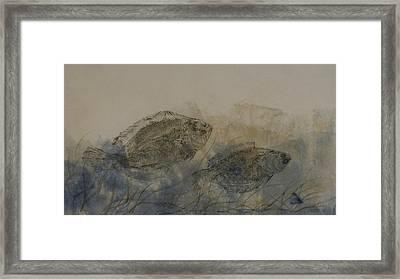 Flounder Duo Framed Print